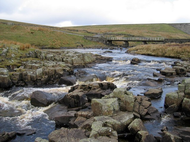 The River Tees above Cauldron Snout - geograph.org.uk - 1177382