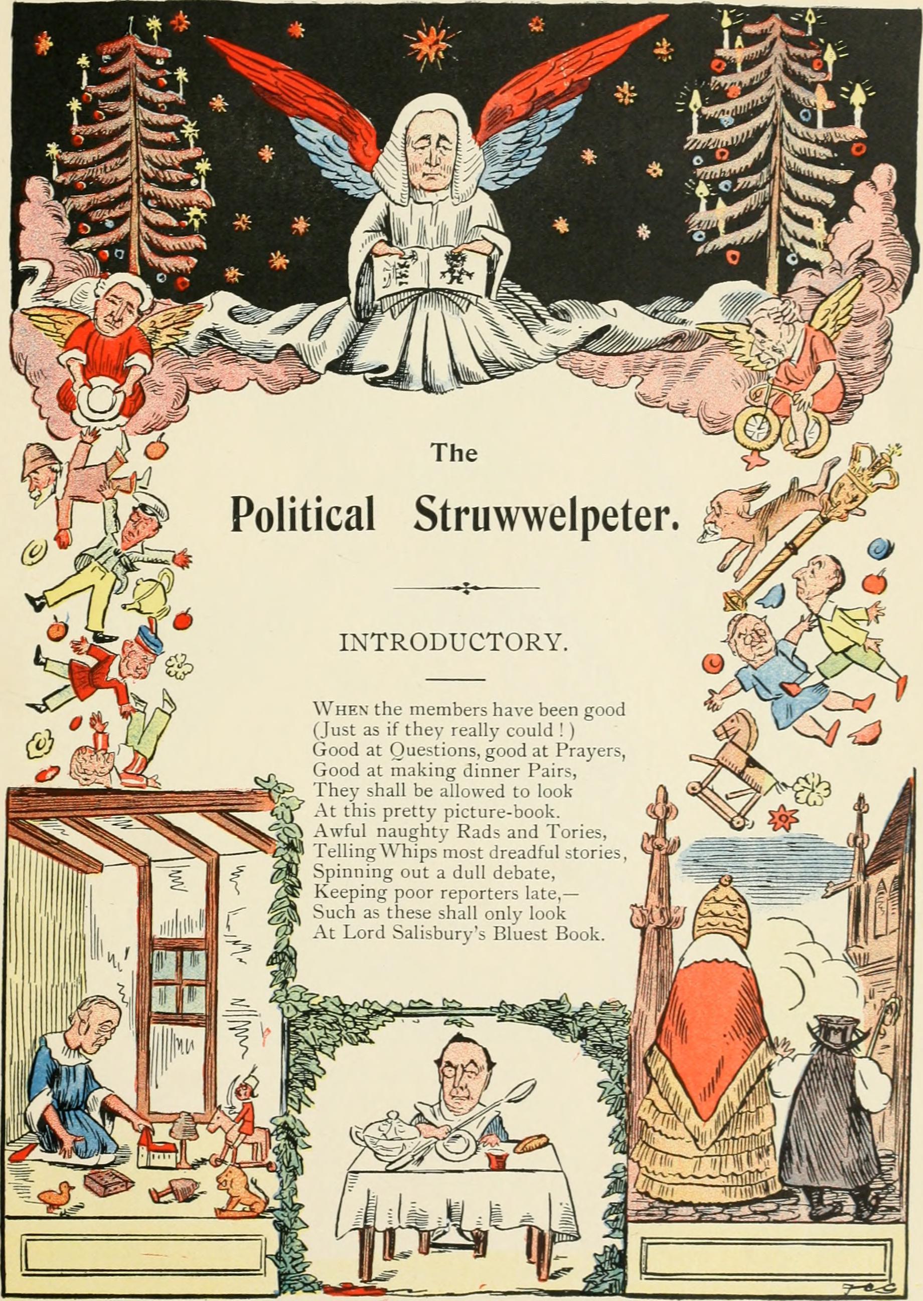 ''The Political Struwwelpeter'' (1899)