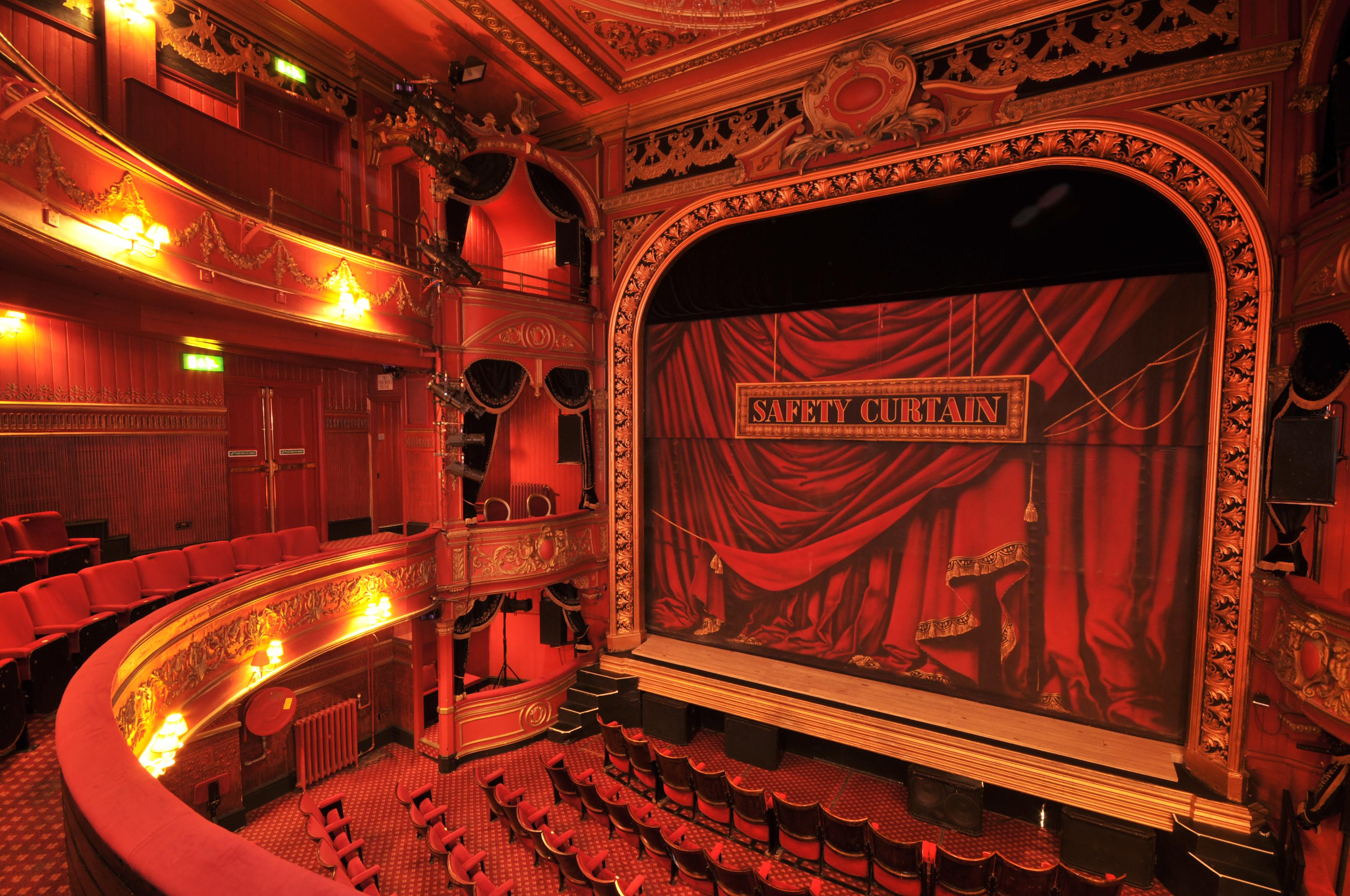File Theatre Royal Stratford East Auditorium Photograph By
