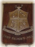 The emblem of St. Thomas's Hall