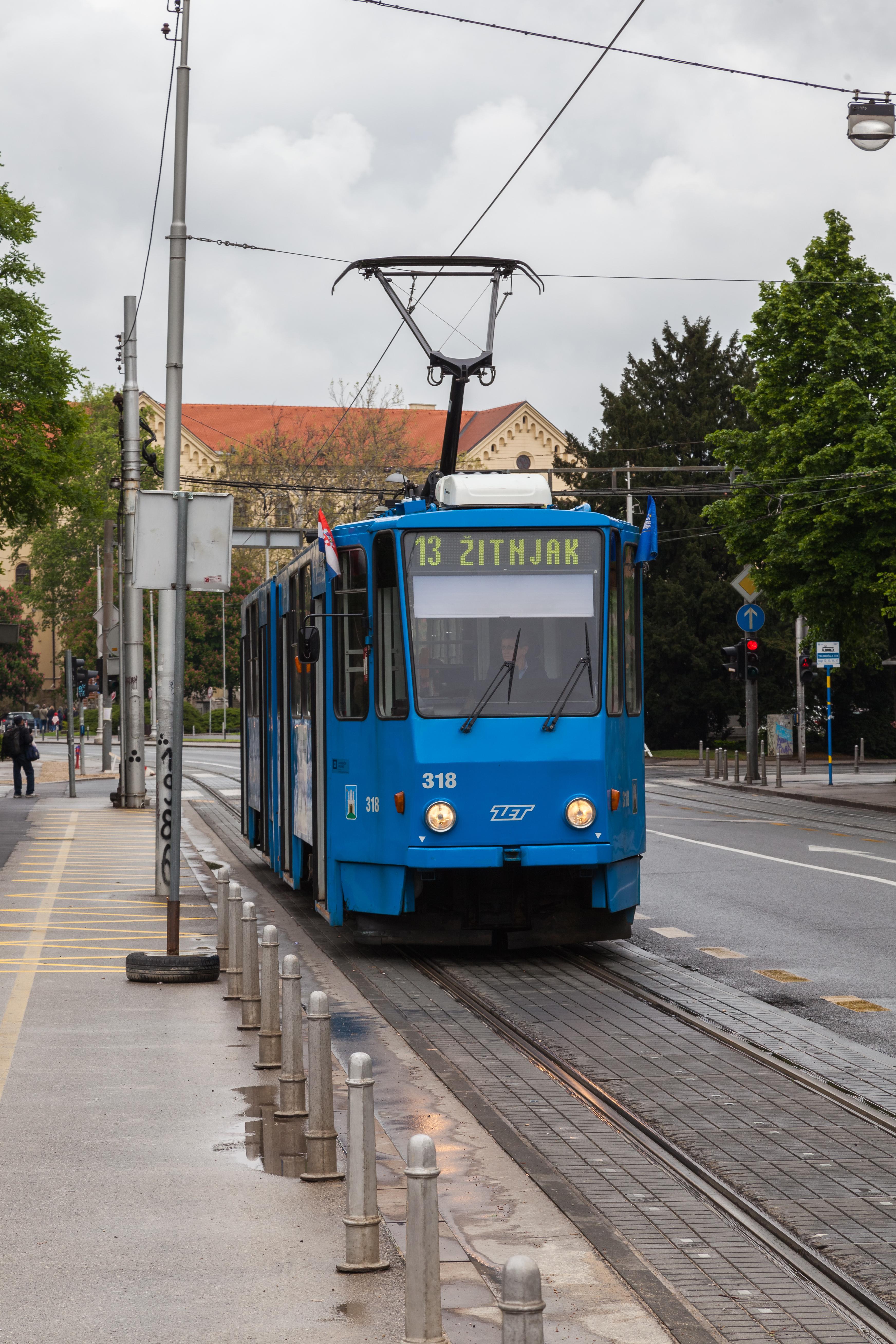 Trams In Zagreb Wikiwand
