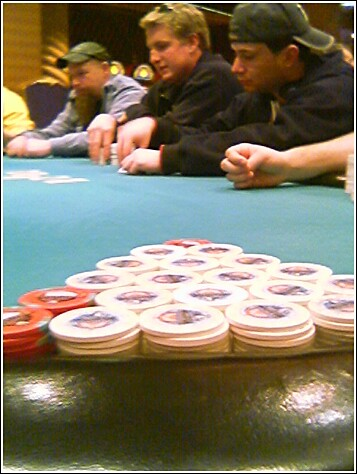 Turning Stone Poker Room Number Of Tables