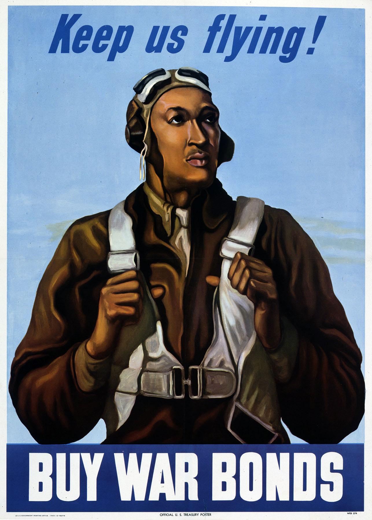 file tuskegee airman poster jpg wikimedia commons