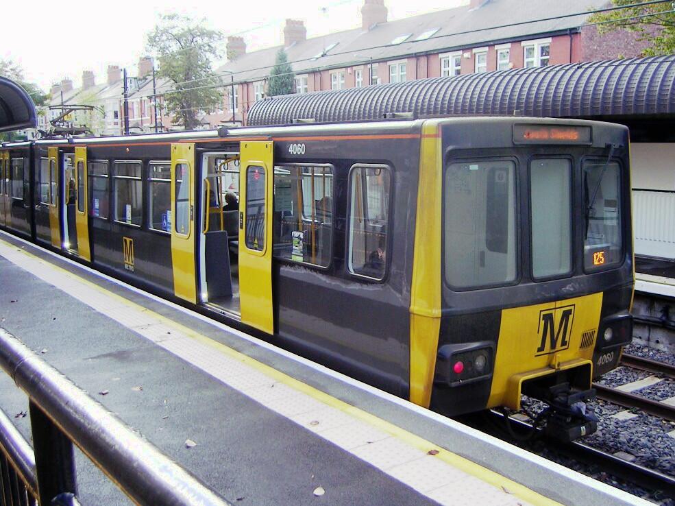 Tyne And Wear Metro Rolling Stock Wikipedia