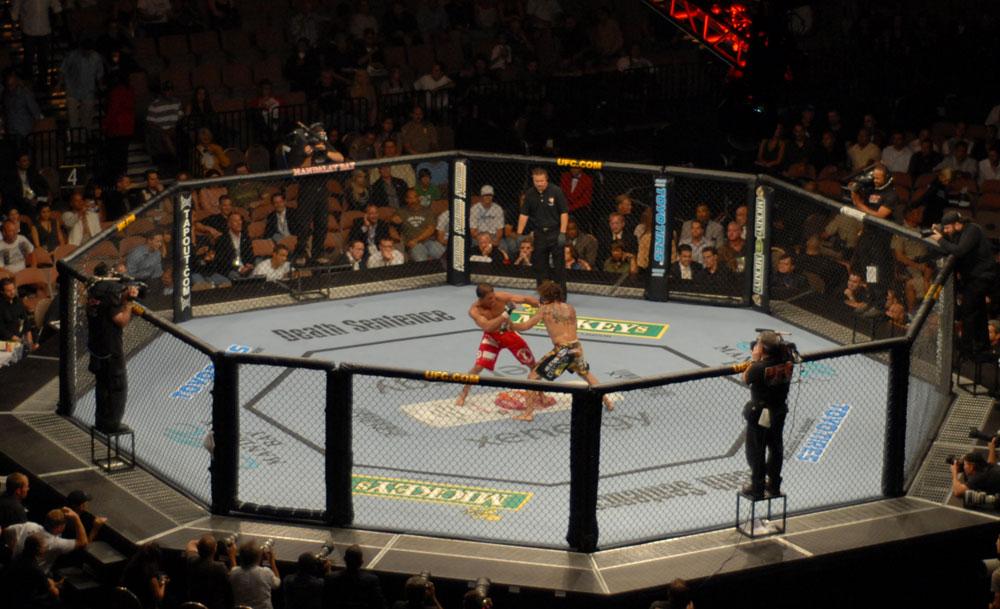 Бруталното начало на UFC