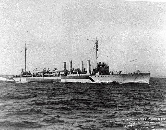 USS Champlin (DD-104)