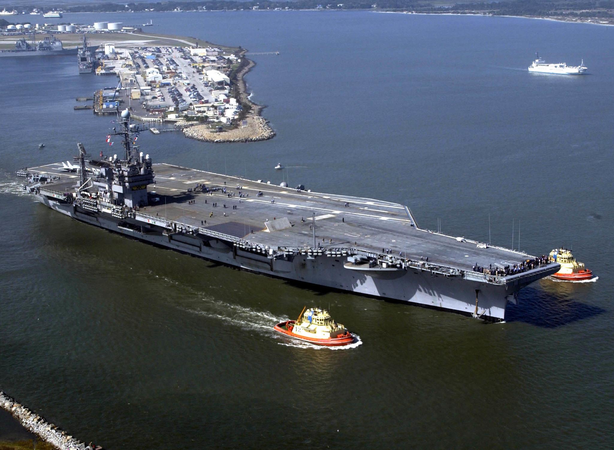 USS John F. Kennedy (CV-67) - Wikipedia