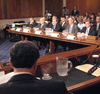 a session of the Senate in progress