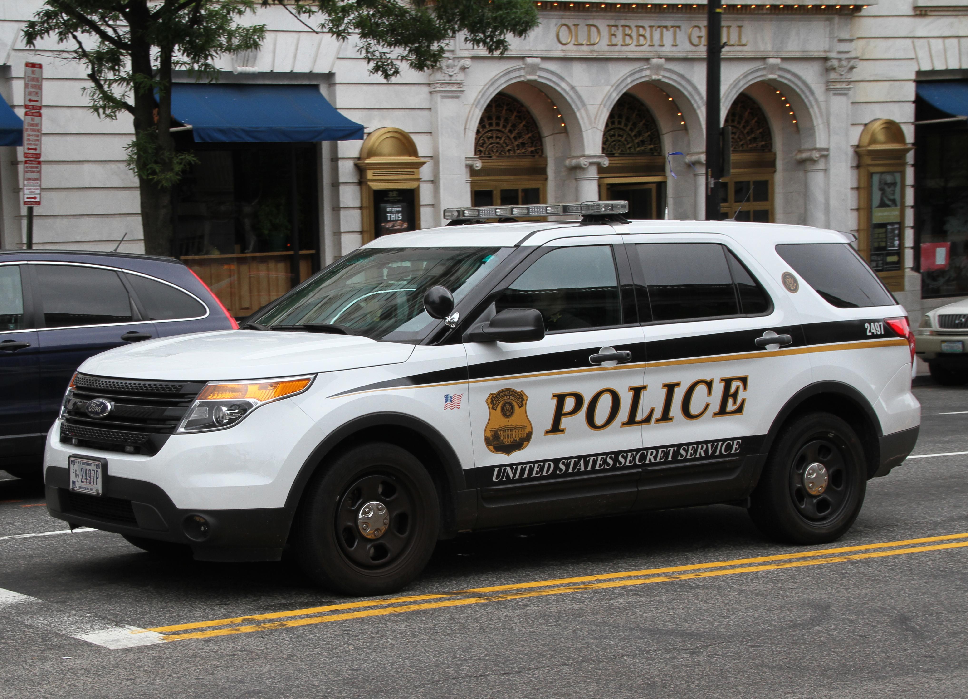 File United States Secret Service Police Car 27658116486