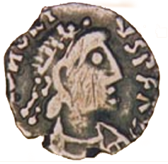 A Vandal-period coin found in Sardinia. - Sardinia