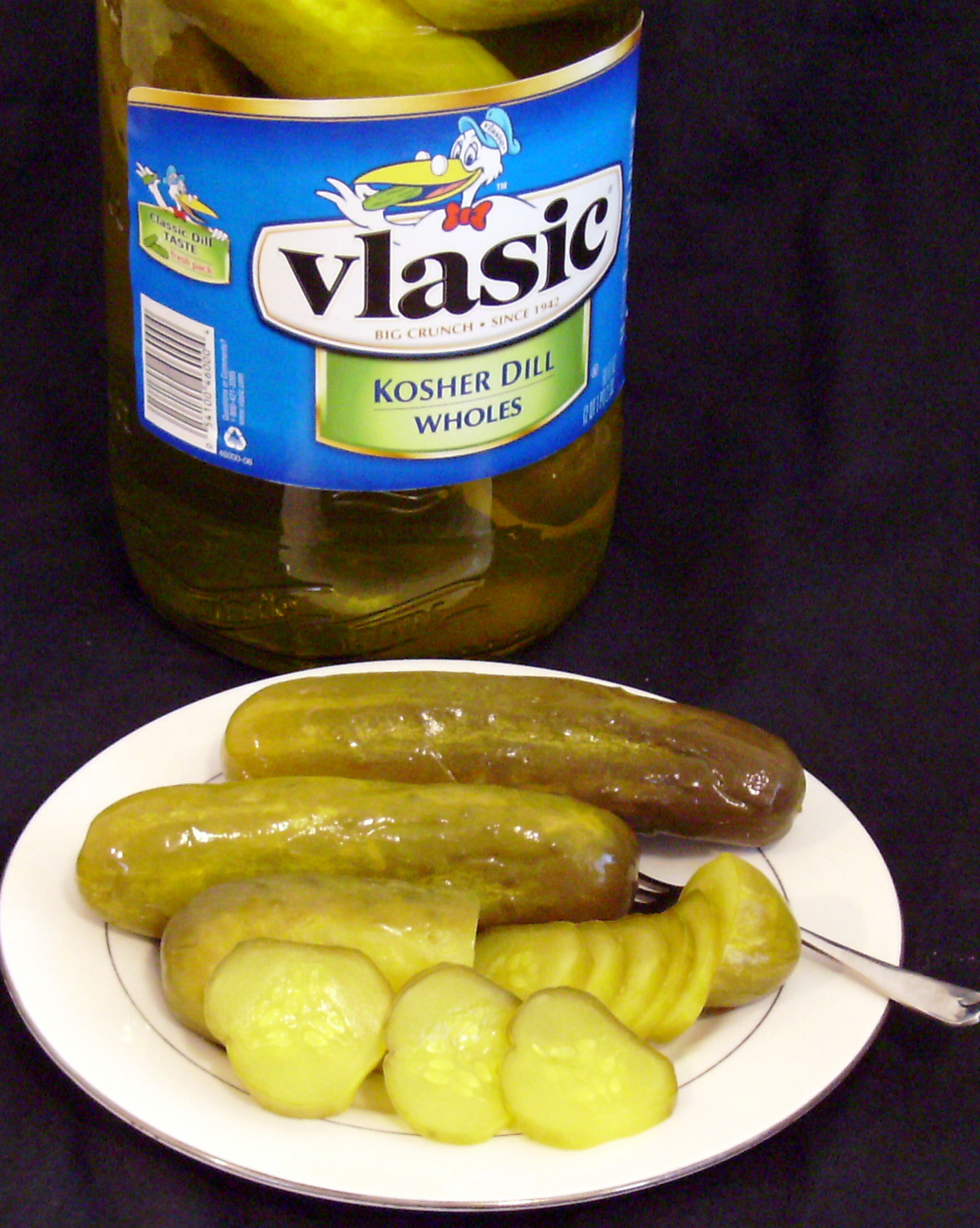 Vlasic pickles stork