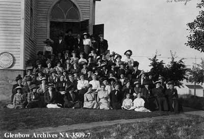 First Alberta Provincial WCTU convention, 1913, Olds, Alberta