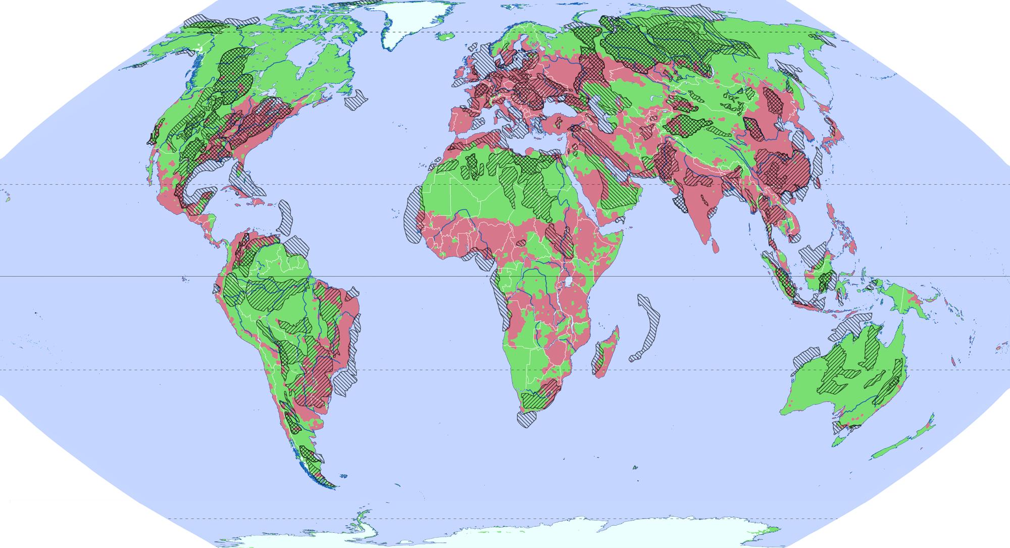 Datei Weltkarte Unkonventionelle öl U Gaslagerstätten Png Wikipedia