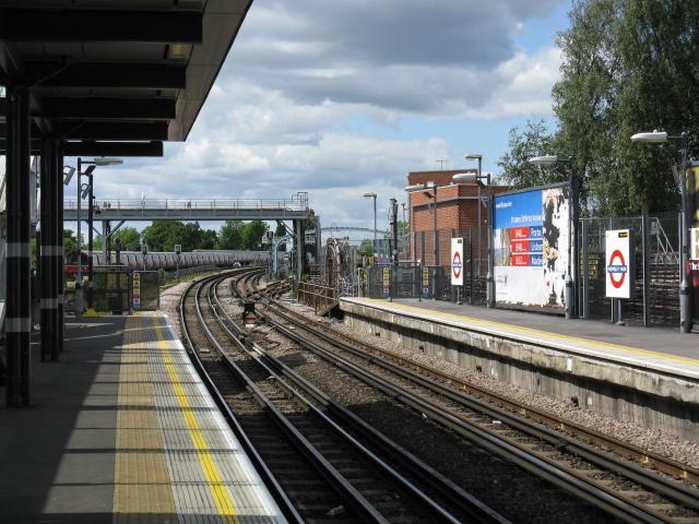Wembley Park Station - Looking North - geograph.org.uk - 1325690