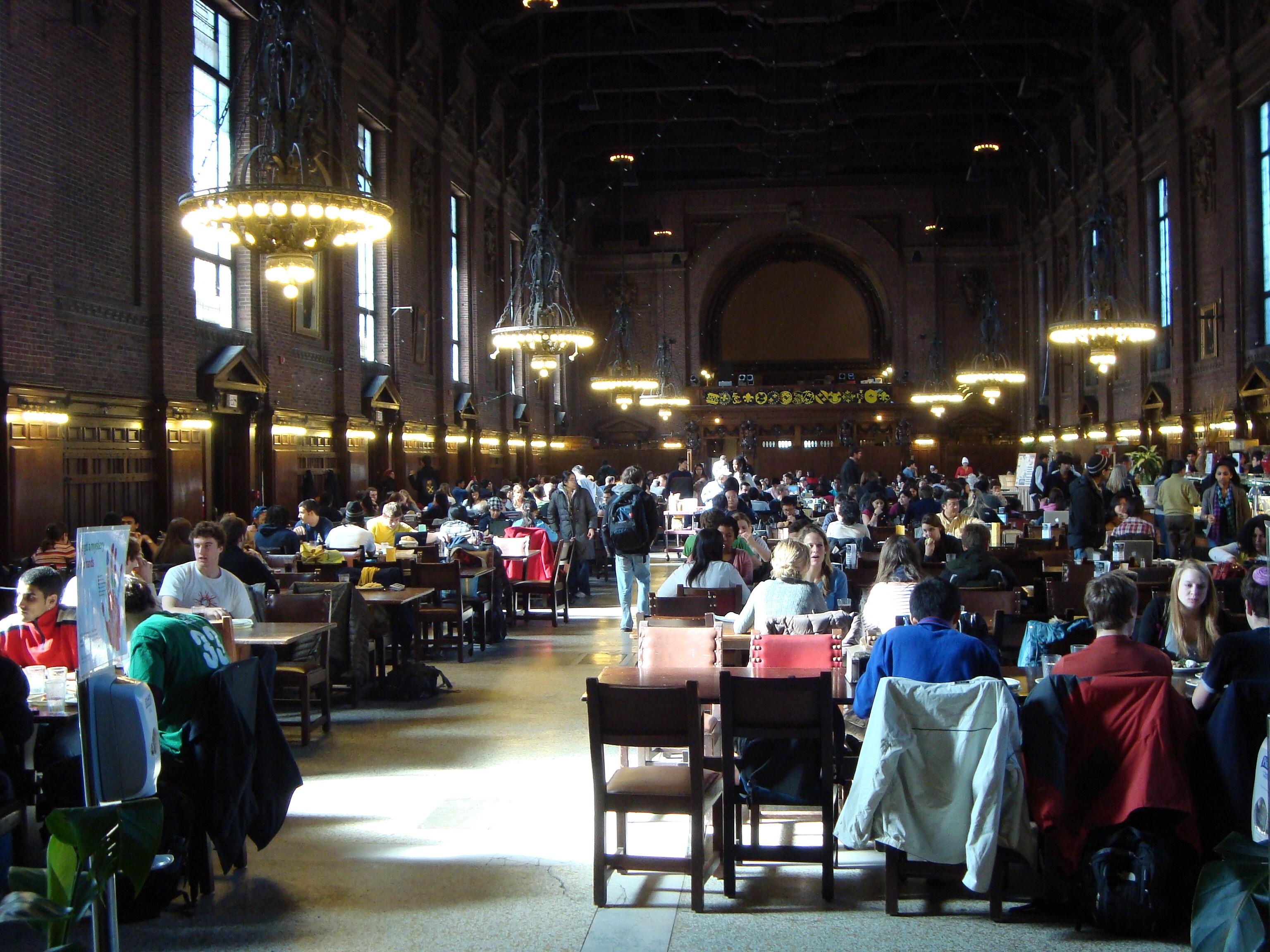 Fileyale University Undergraduate Commons Dining Hall New Haven