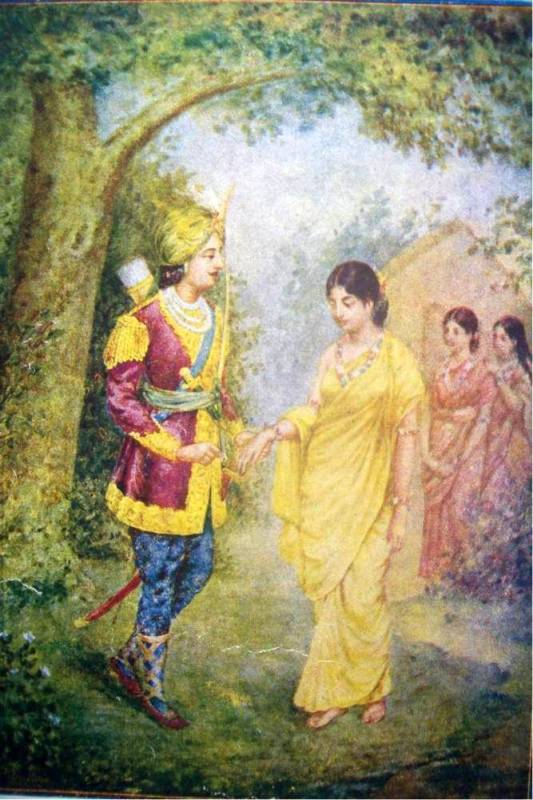 shakuntala by kalidasa In hinduism shakuntala (sanskrit: शकुन्तला, śakuntalā)(শকুন্তলা-bengali) the wife of dushyanta and the mother of emperor bharata her story is told in the ma.