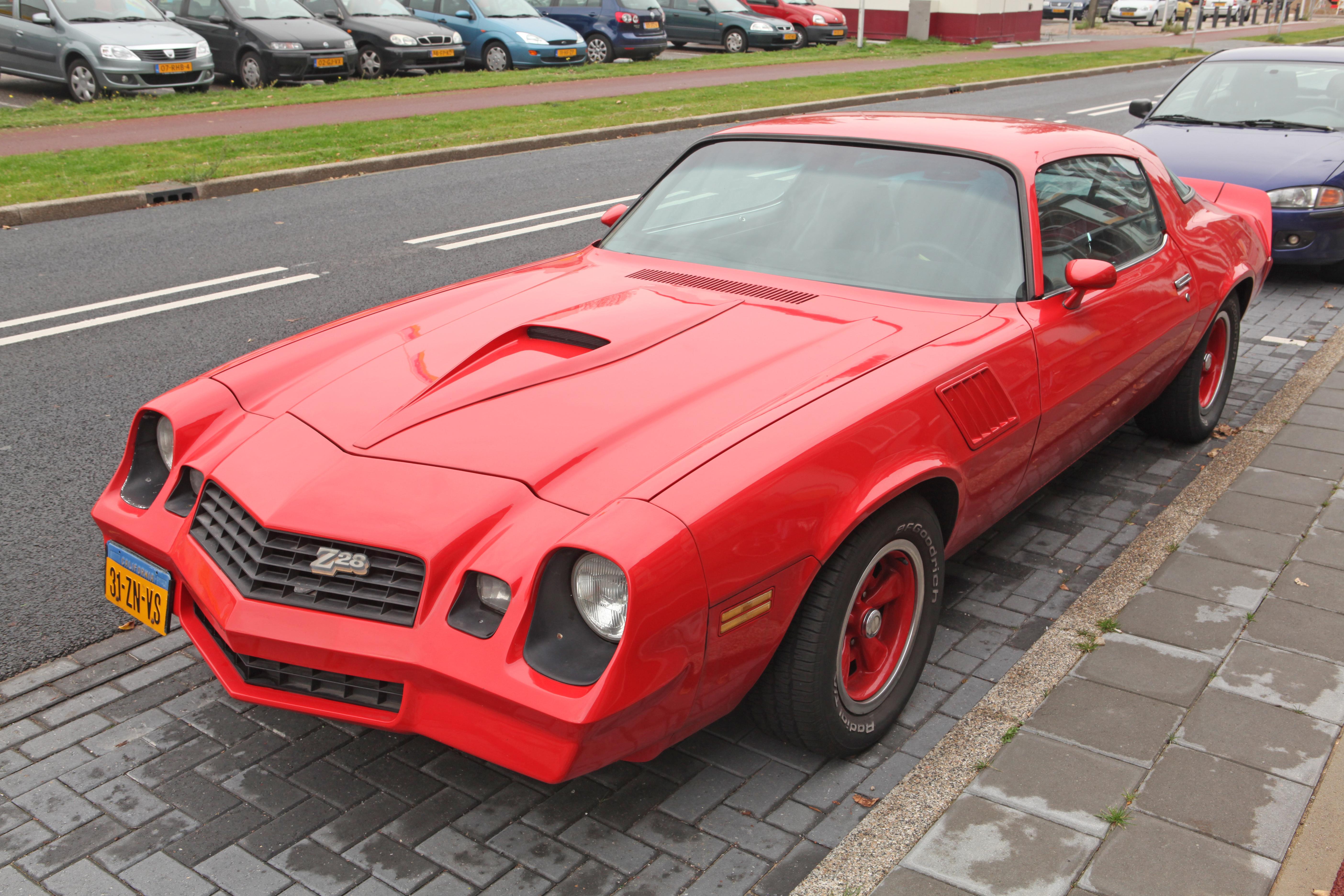 File:1978 Chevrolet Camaro jpg - Wikimedia Commons