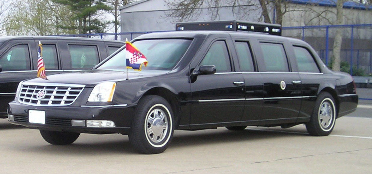 2005 Cadillac DTS Presidential State Car - Wikiwand