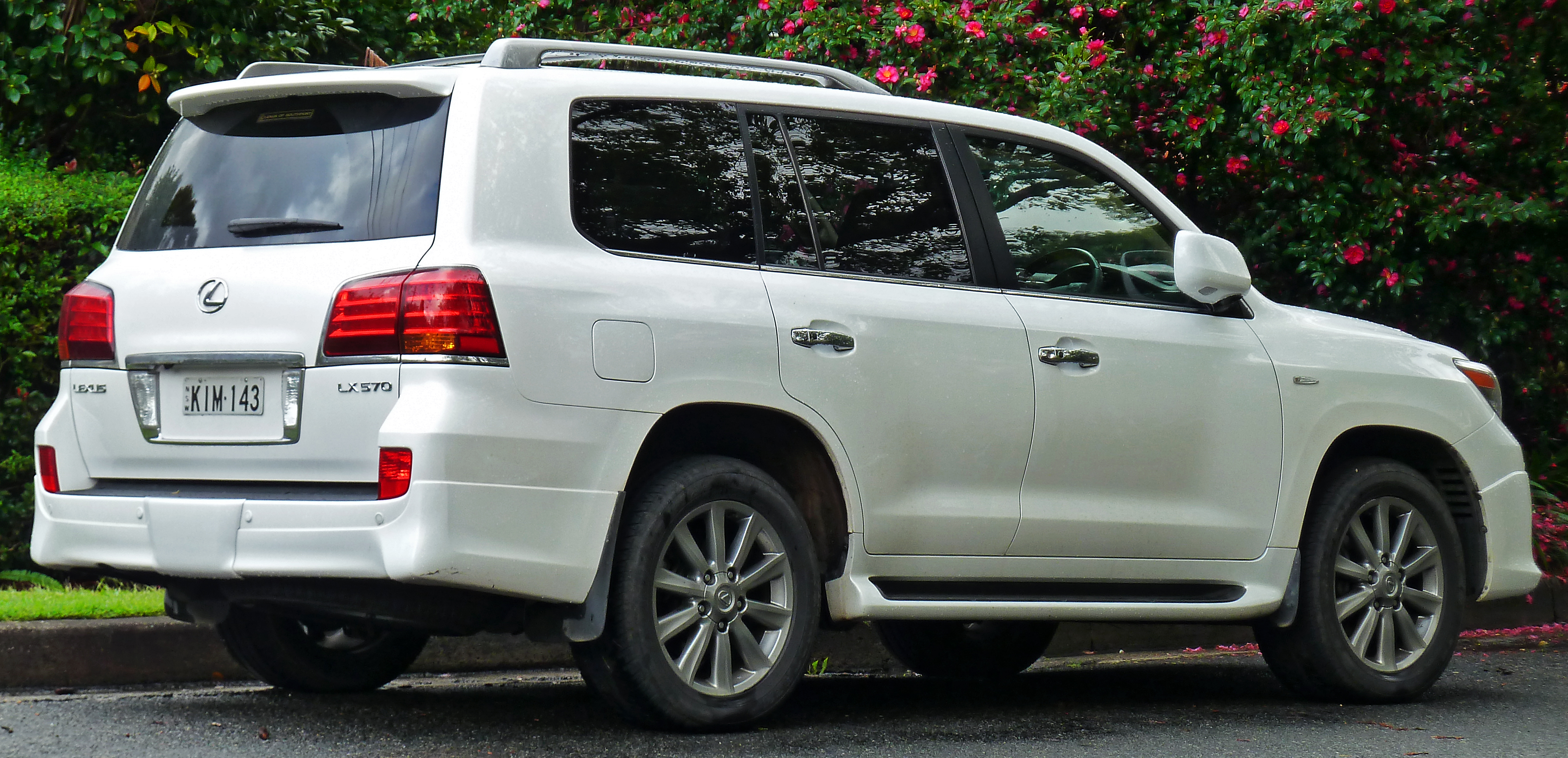 Great File:2008 2011 Lexus LX 570 (URJ201R) Sports Luxury Wagon (2011