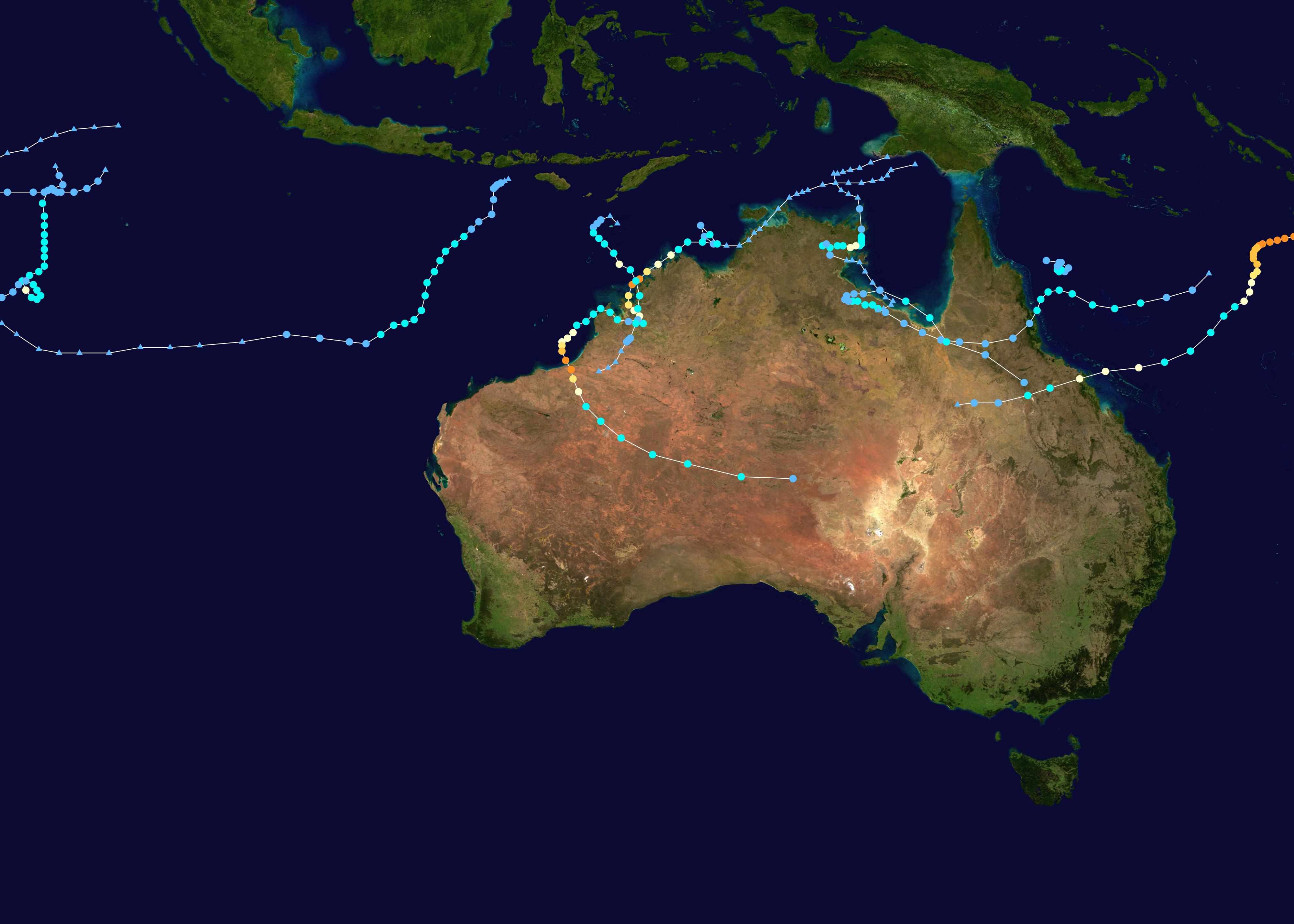 2009u201310 Australian region cyclone season