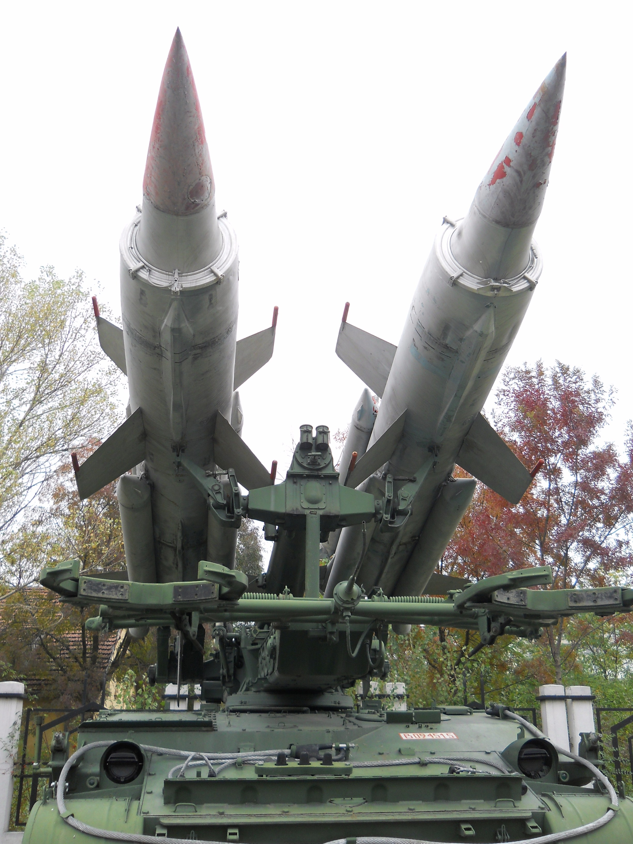 File2K11 Krug missiles National Museum of Military  : 2K11KrugmissilesNationalMuseumofMilitaryHistoryBulgaria from commons.wikimedia.org size 2448 x 3264 jpeg 1341kB