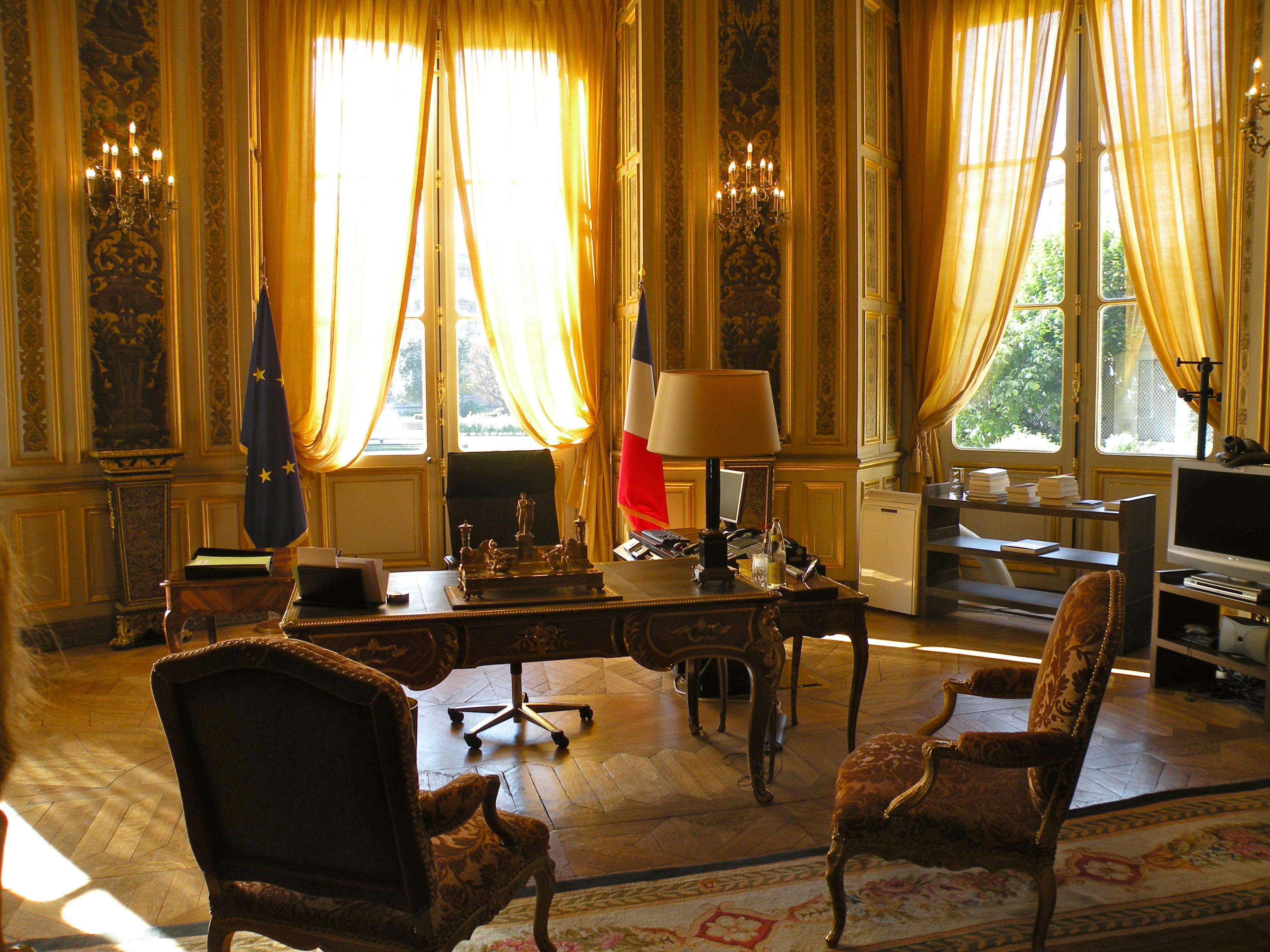 File 37 quai d 39 orsay bureau du ministre wikimedia for Bureau ministre