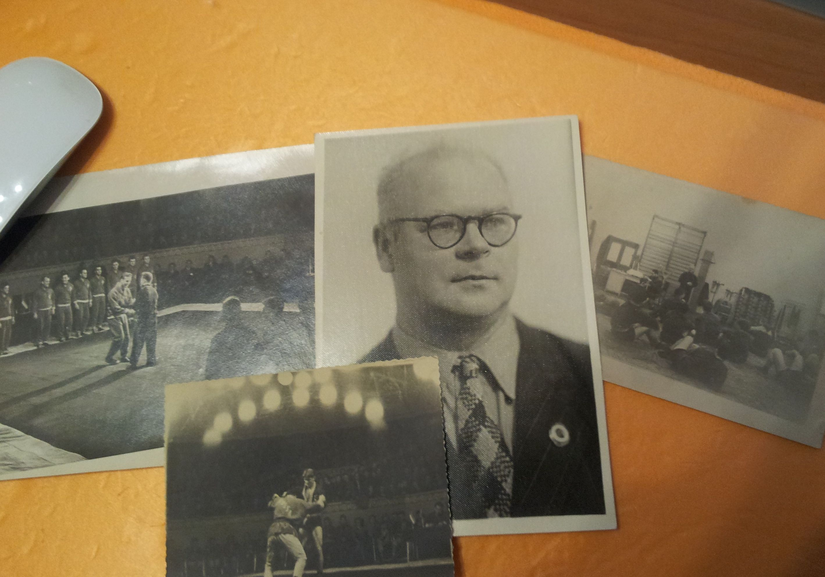 4 photos from the archives of prof. Ilyin VD