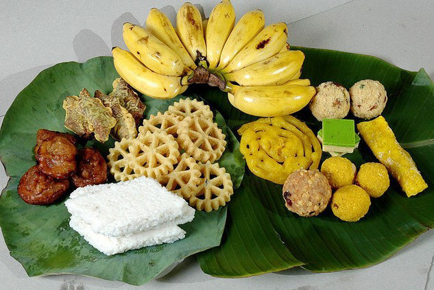 File:A food treats arrangement for Puthandu (Vaisakhi) Tamil Hindu New Year.jpg