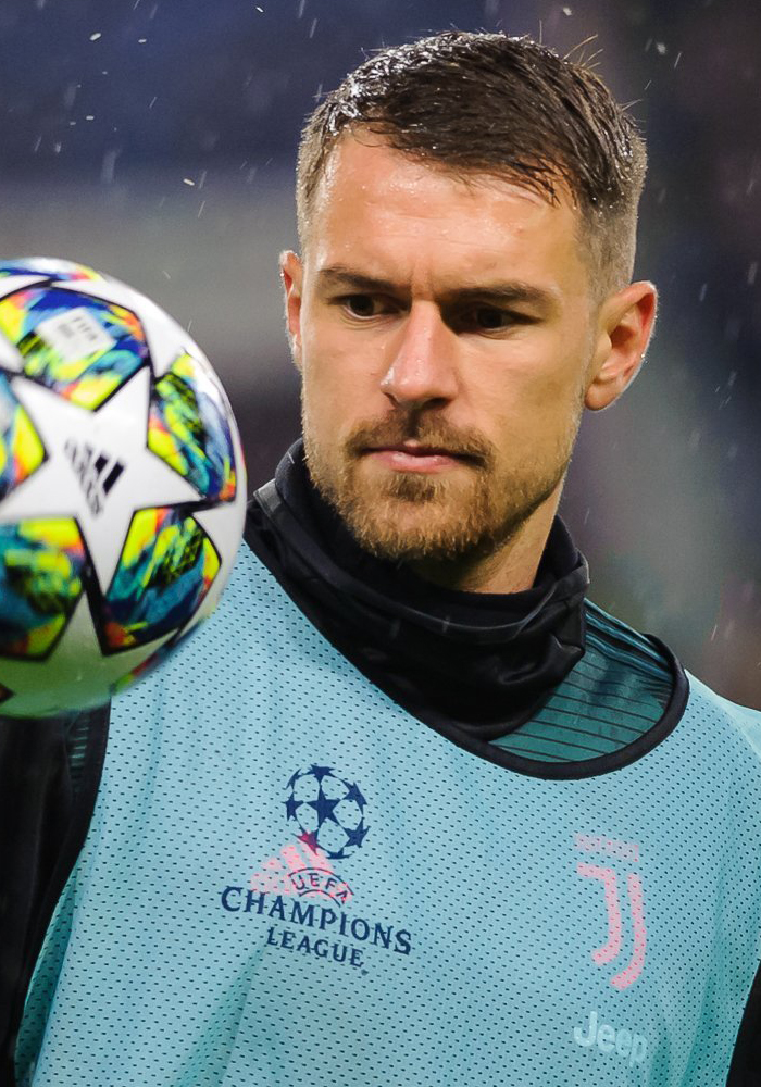 The 29-year old son of father (?) and mother(?) Aaron Ramsey in 2020 photo. Aaron Ramsey earned a million dollar salary - leaving the net worth at 24 million in 2020