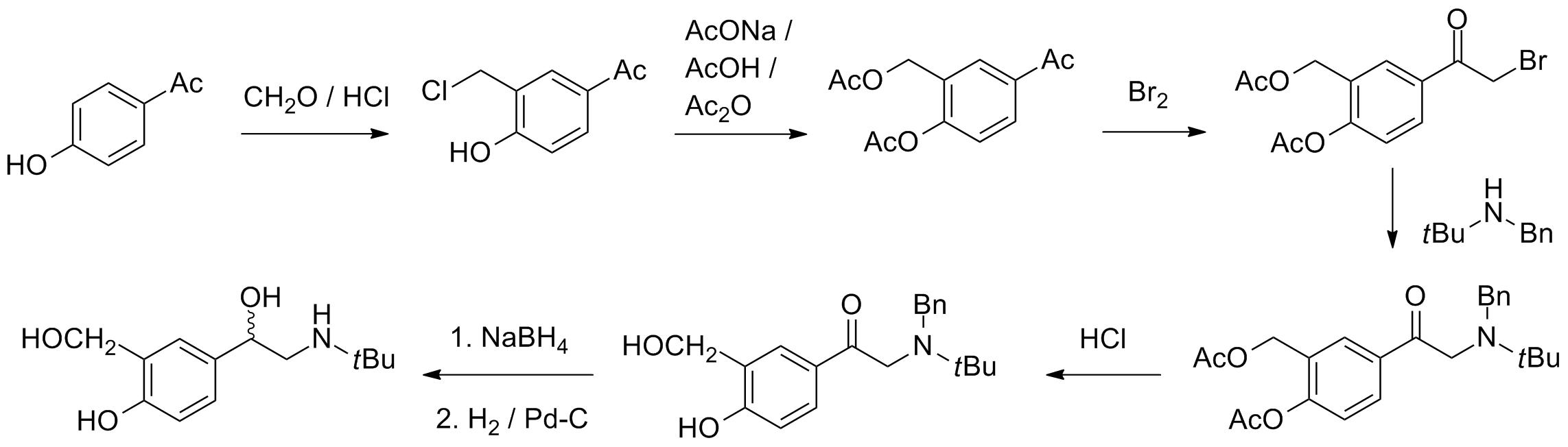 salbutamol sulfate steroid