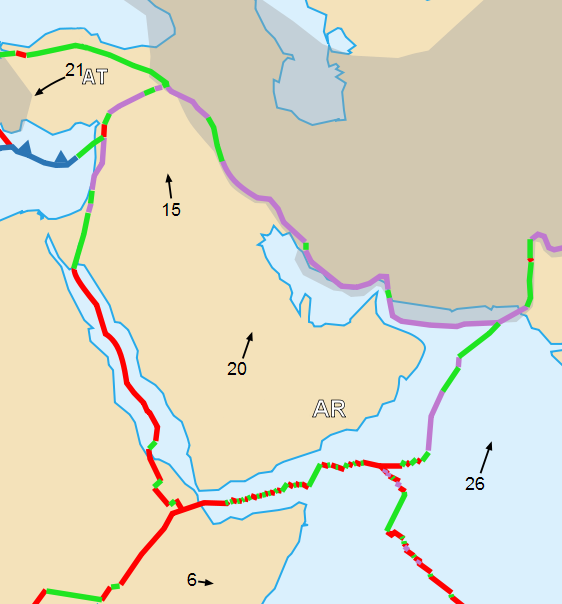 File Arabian Plate Map-uni Png