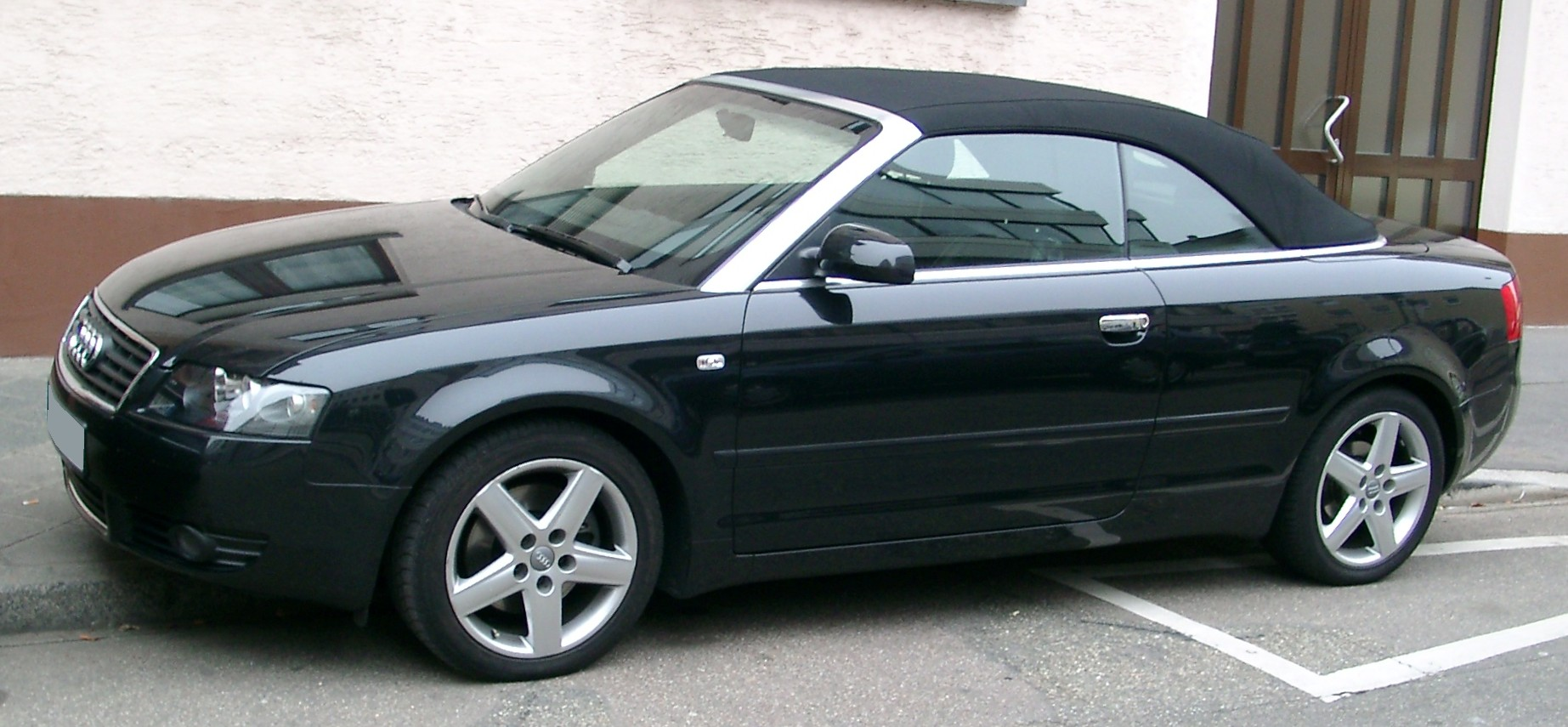 File Audi A4 B6 Cabrio Side 20071102 Jpg Wikimedia Commons
