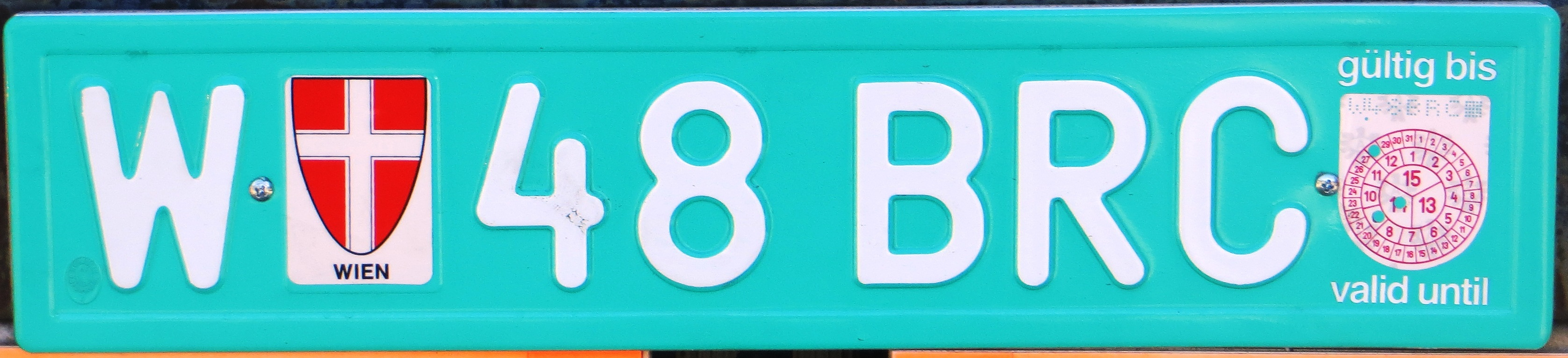 License Plate Camera >> File:Austria export license plate.JPG - Wikimedia Commons
