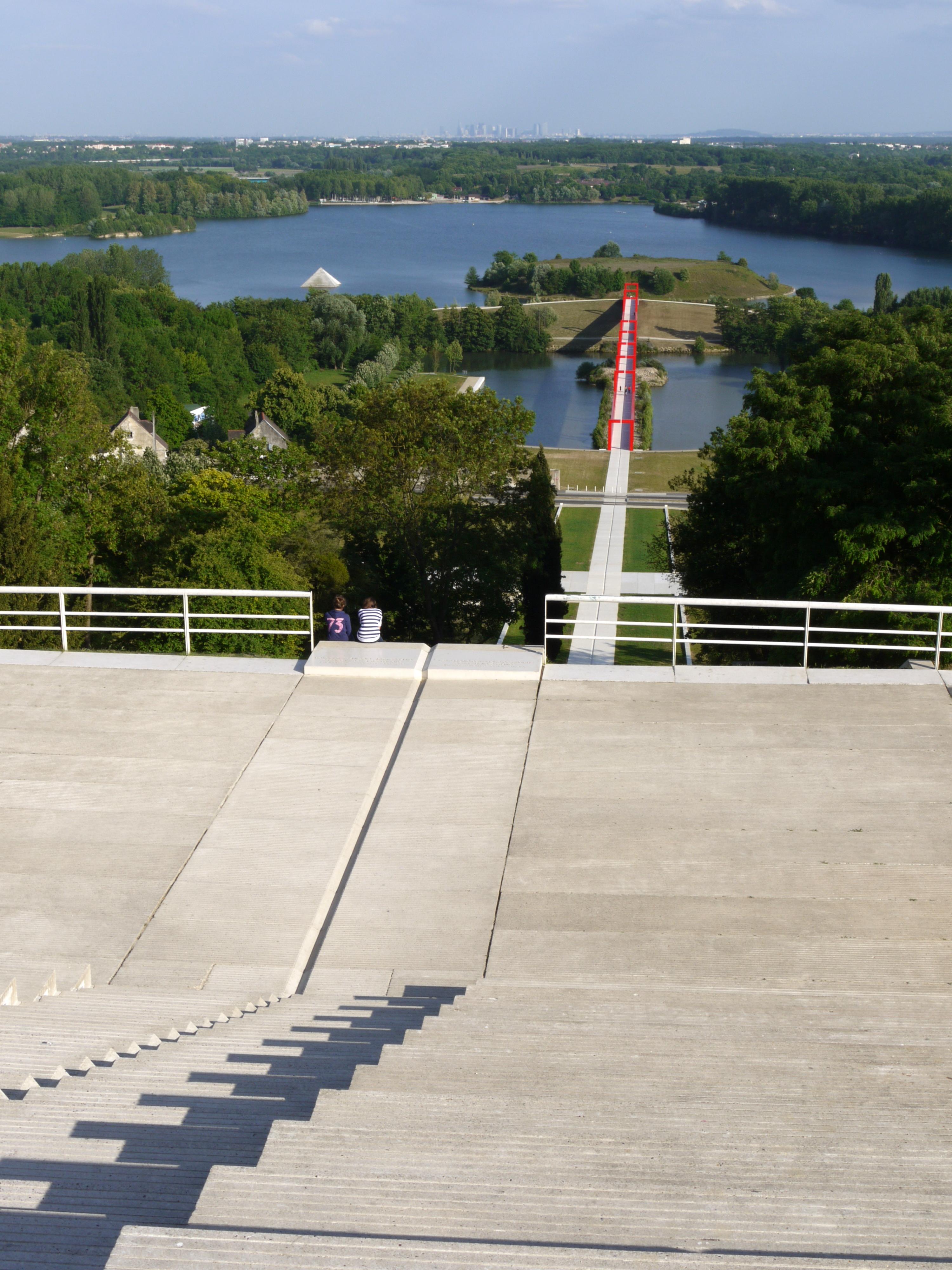 Escalier Val D Oise axe majeur — wikipédia