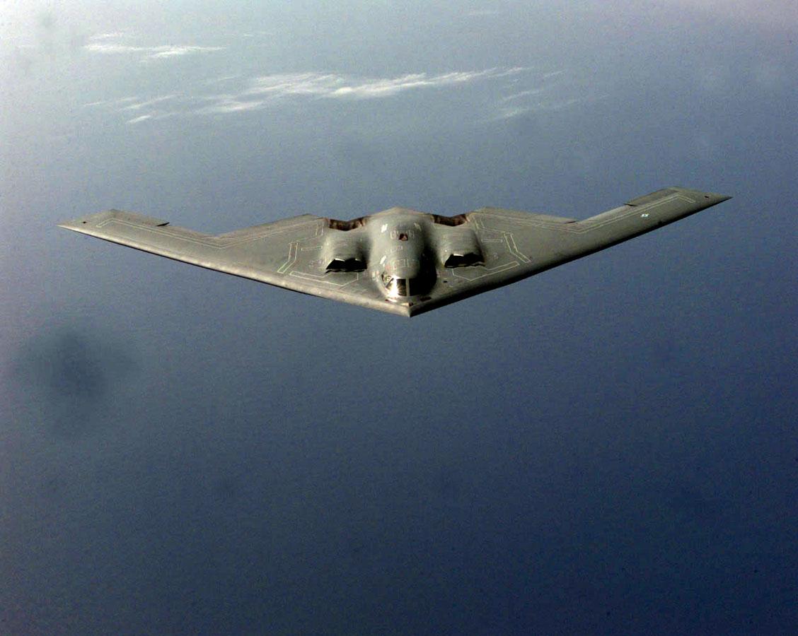 Резултат с изображение за бомбардировач B-2 Spirit.