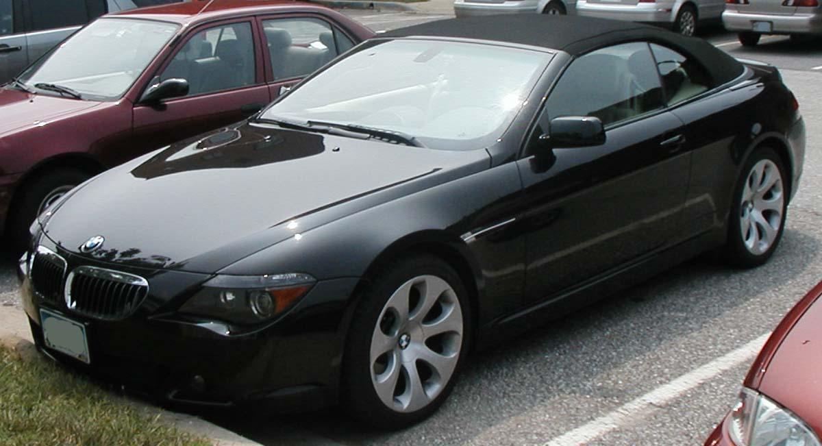 Bmw 645i. BMW 645 Cabrio