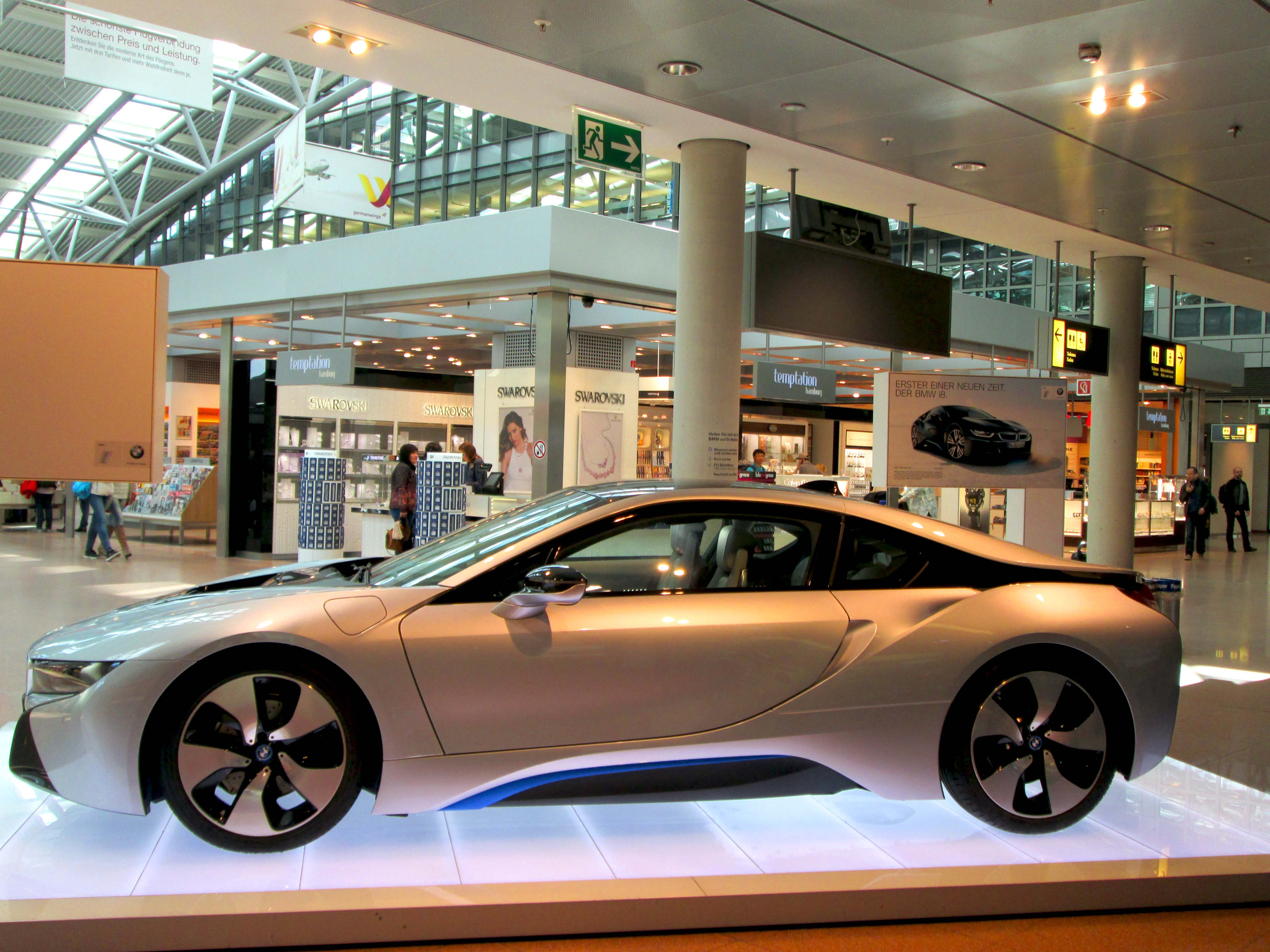 file bmw vision efficient dynamics bmw i8 jpg wikimedia commons. Black Bedroom Furniture Sets. Home Design Ideas