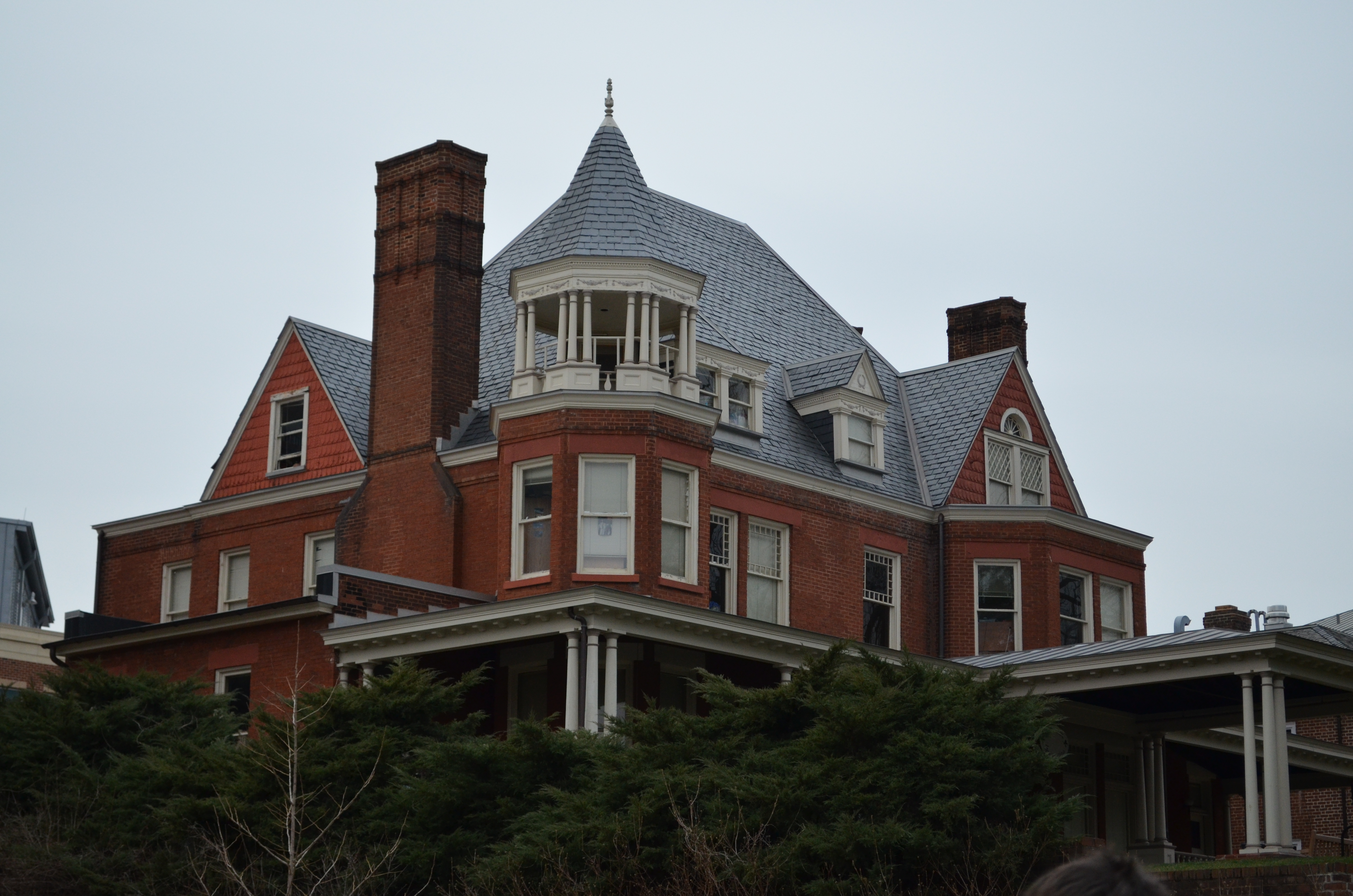 barringer mansion from by