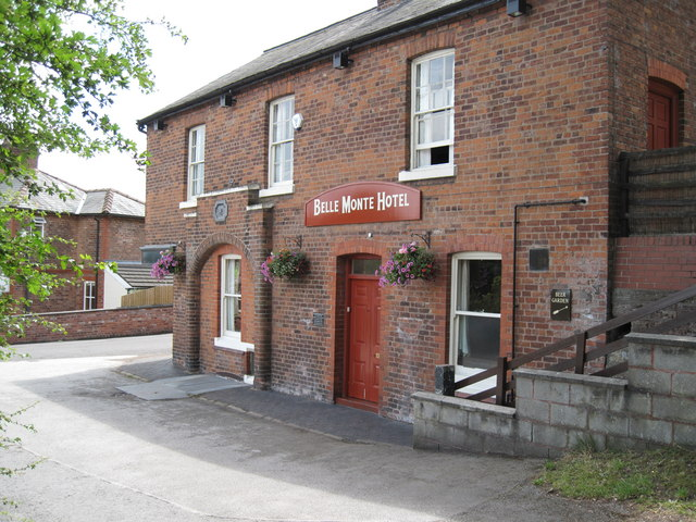 Creative Commons image of The Belle Monte Hotel in Frodsham