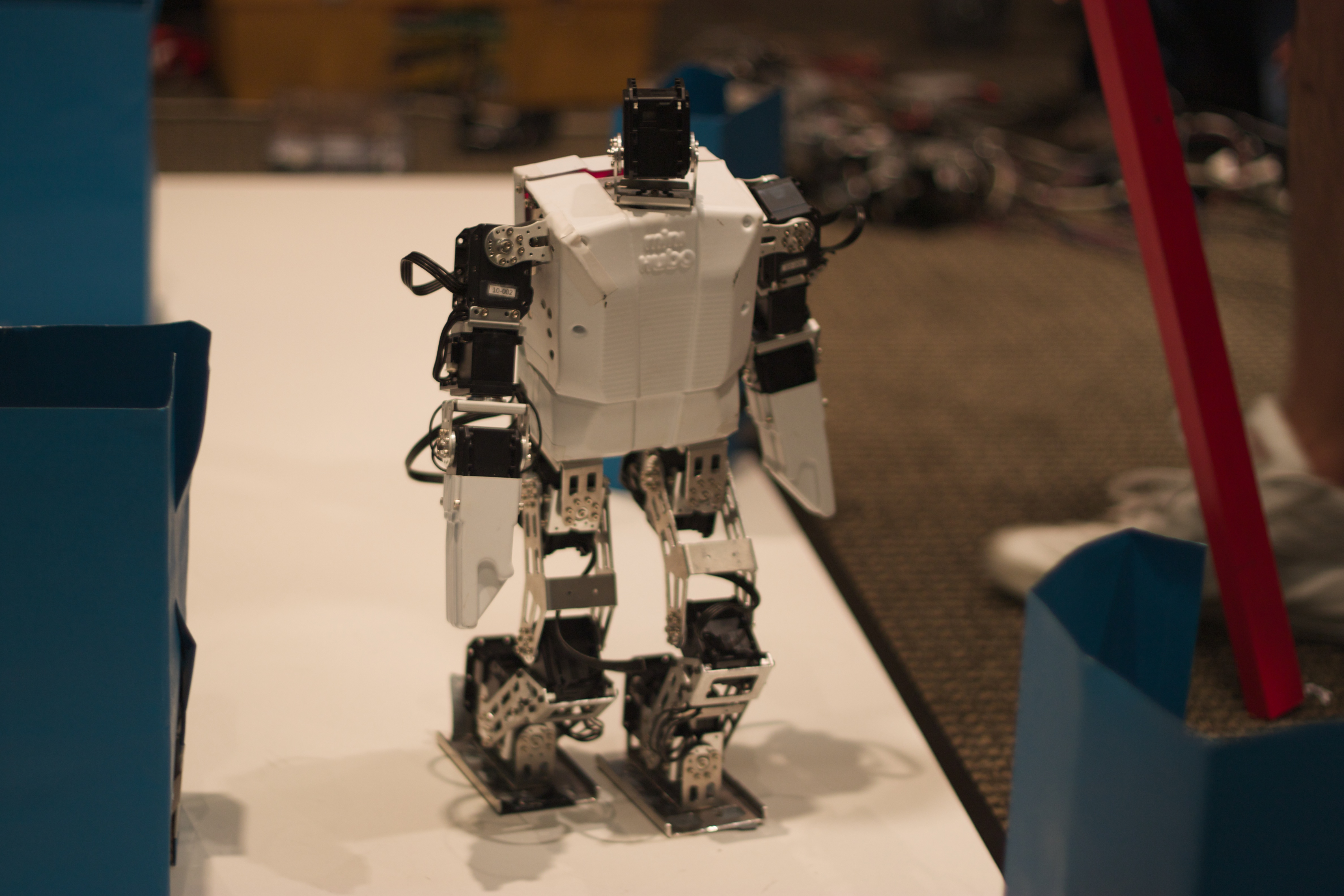 Lego Construction Robot Humanoid Robot Constructed