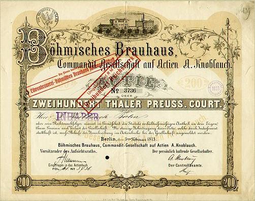 Datei:Boehmisches Brauhaus Aktie.jpg