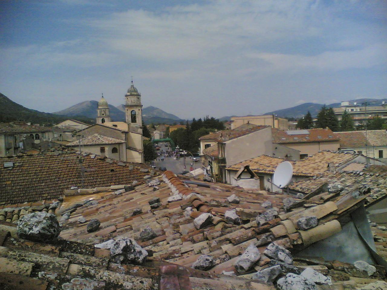 Campobasso Italy  City new picture : Bojano tetti Wikimedia Commons