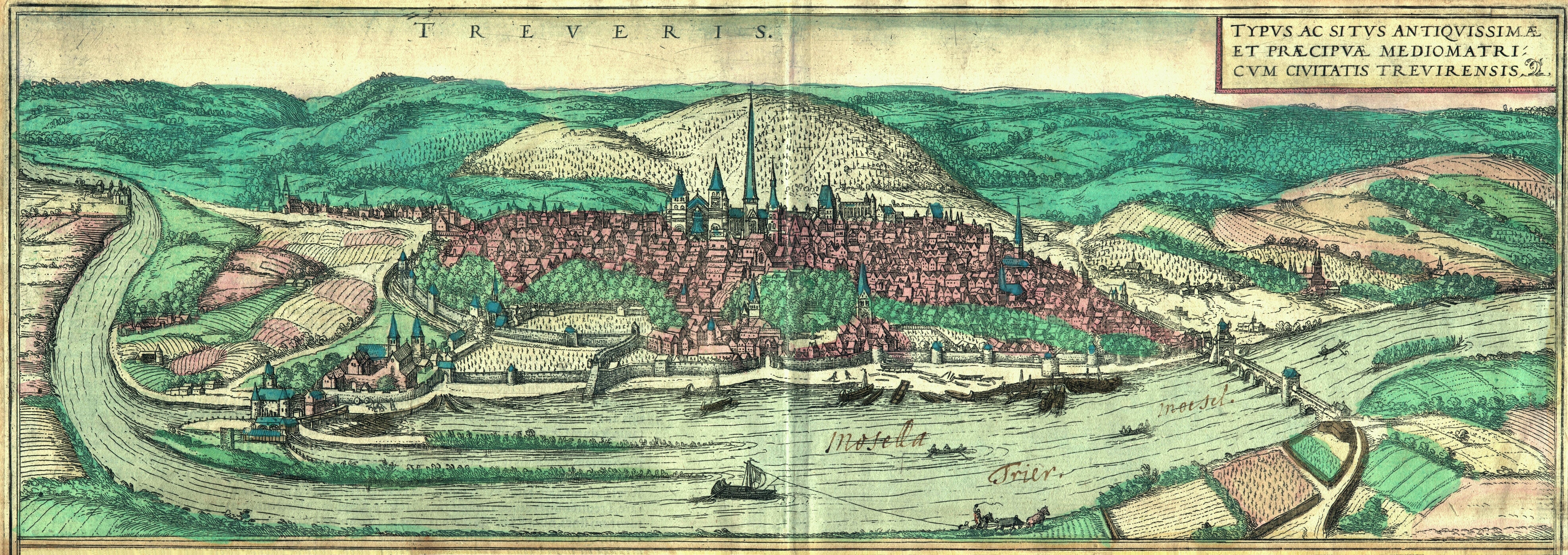 Stadtansicht von Braun & Hogenberg (1572) by Wikimedia