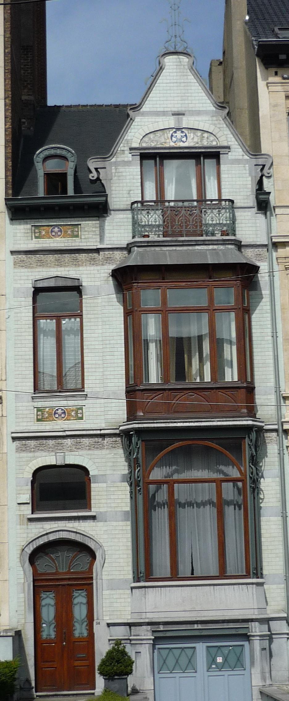 Fichier bruxelles blvd g n ral jacques 36 maison par for Architecte bruxelles