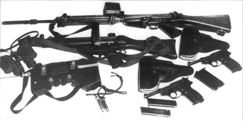 Bundesgrenzschutz Waffen