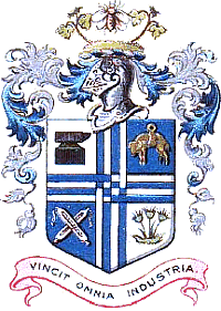 Coat of arms of the County Borough of Bury