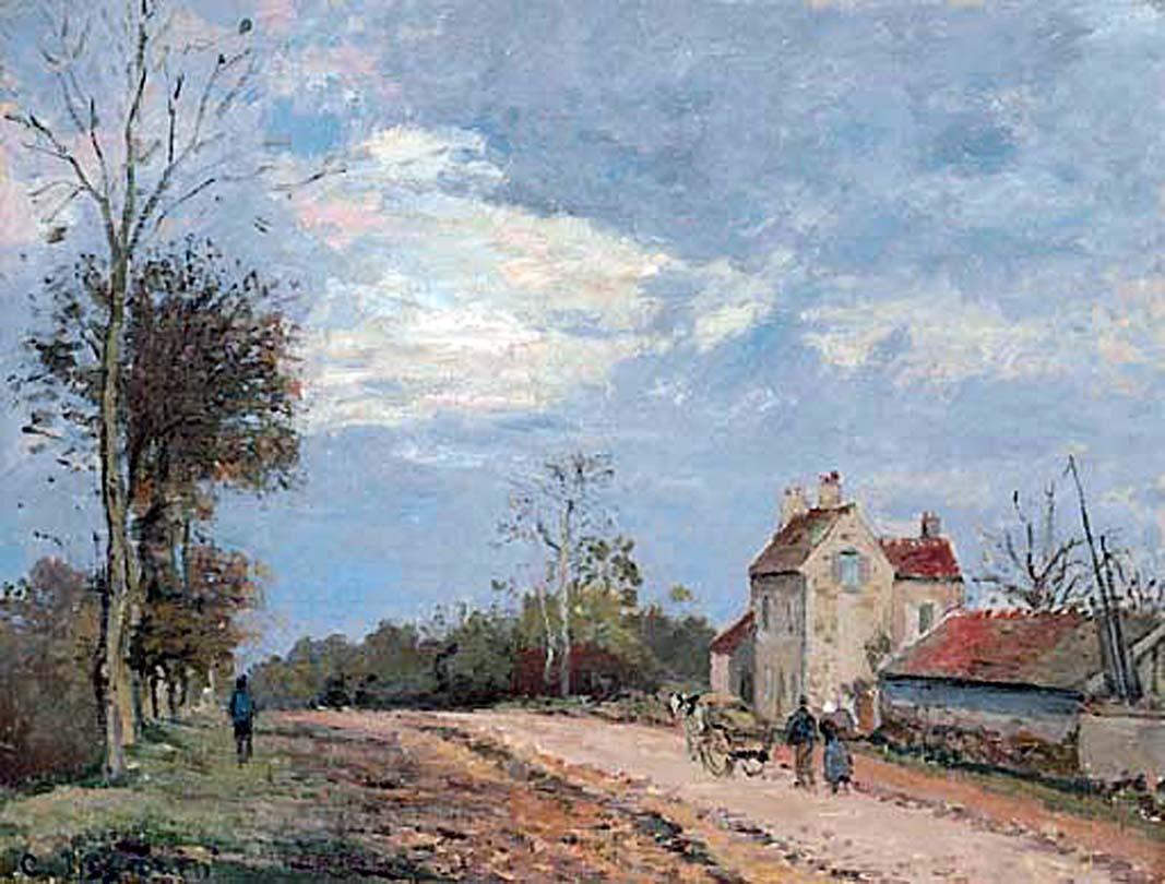 File Camille Pissarro La Maison De Monsieur Musy Route