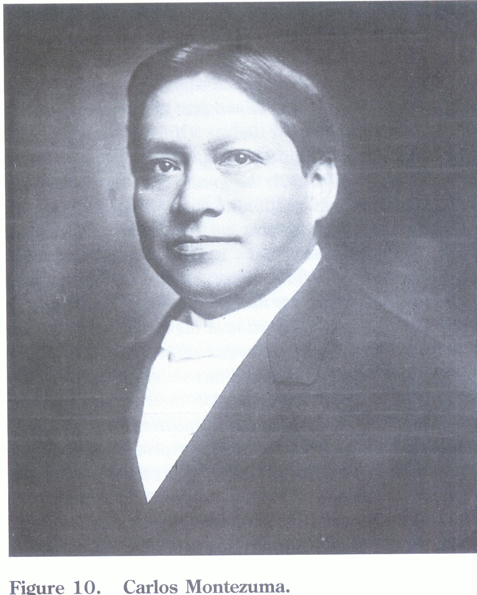 Carlos Montezuma, 1896 Photographic reproduction: From collections of the National Anthropological Archives, Smithsonian Institution.