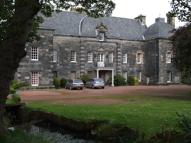 Front Elevation In House : Caroline park wikipedia