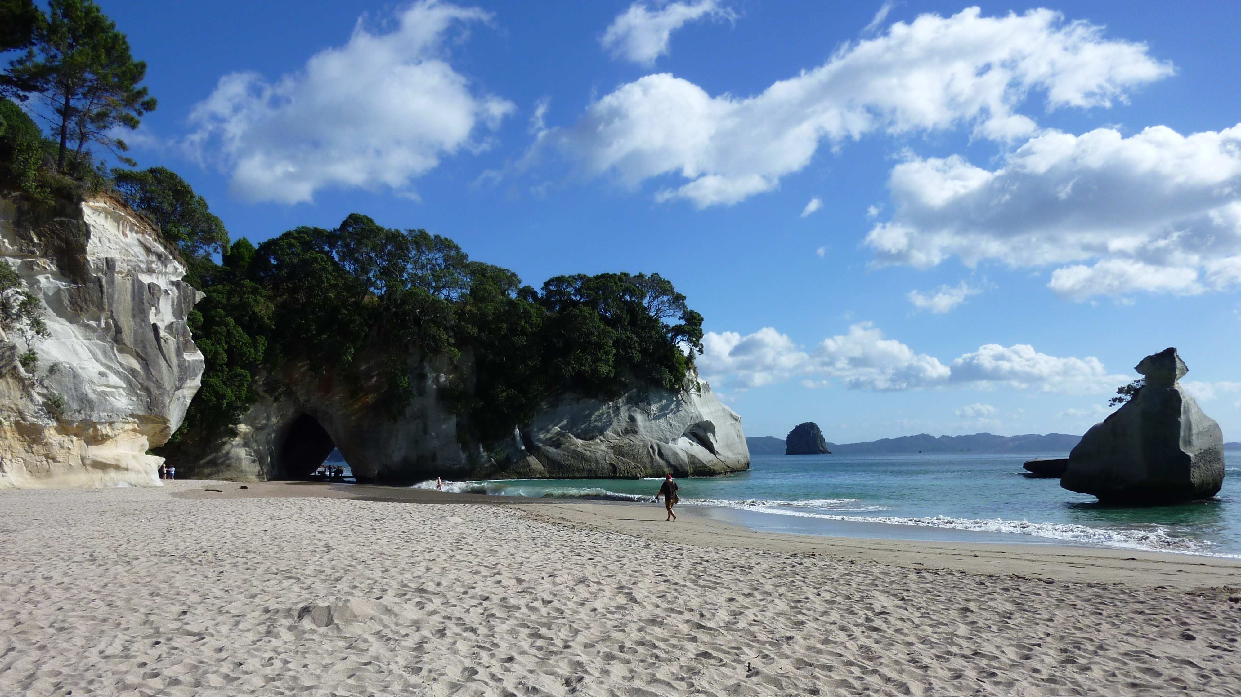 Description Cathedral cove Beach JPGCathedral Cove